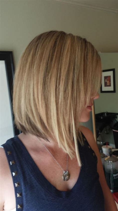 printable pictures of the inverted stack haircut long inverted bob hairstyles back view life style by