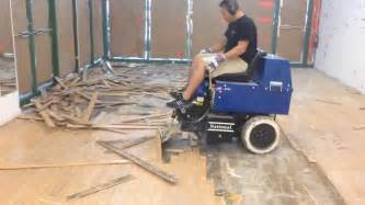 Hardwood Floor Removal L2 Floor Care Inc Glued Wood Floor Removal Machine