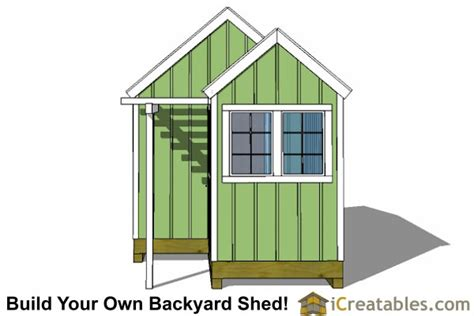 6 By 8 Shed Plans by 10x8 6x8 Garden Shed Plans