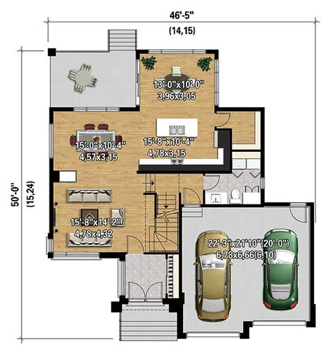 multi level home plans multi level modern house plan 80840pm architectural