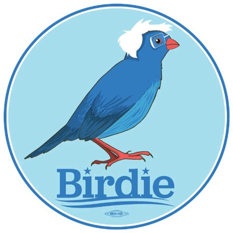 The Birdie by Birdie Sanders New Sticker From The Usa Dear