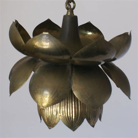 Lotus Flower Pendant Light Midcentury Retro Style Modern Architectural Vintage Furniture From Metroretro And Mcm Consignment