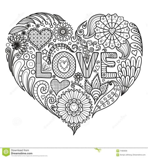 coloring pages for adults heart 5705 best coloring pages images on pinterest mandalas