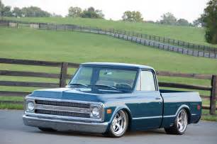 a 1970 chevy c10 that went from high school ride to