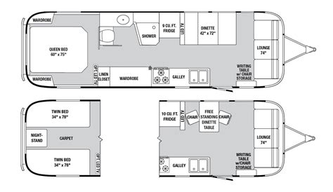 airstream floor plans airstream inc classic 31 my favorite floor plan and