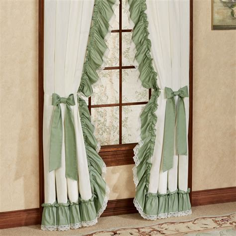 Ruffled Priscilla Curtains Madelyn Ruffled Priscilla Curtains Window Treatment