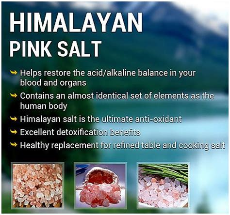 himalayan salt l effects sel de l himalaya himalayen and sels on