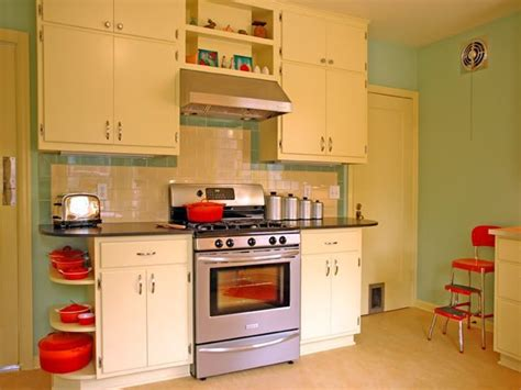50s Style Kitchen Cabinets Another Great 50s Style Kitchen The Castle