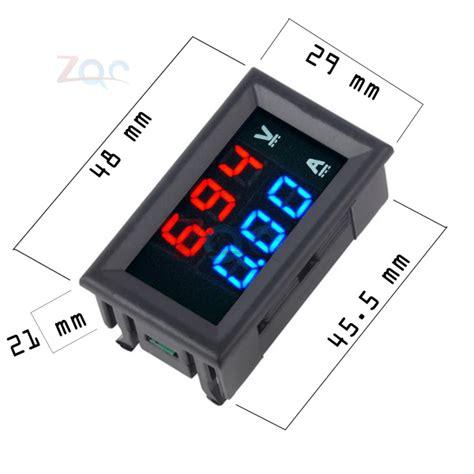 Voltmeter Digital Mini digital voltmeter ammeter panel