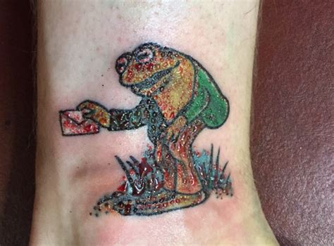 valor tattoo frog and toad friendship tattoos done by nadine at valor