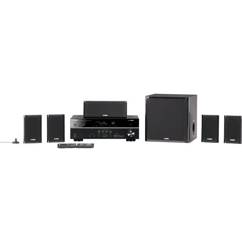 yamaha yht 599ubl 5 1 channel network av home theater yht