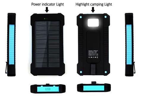 Samsung 10 000mah tesla 174 solarcharge 10 000mah solar power bank dual usb