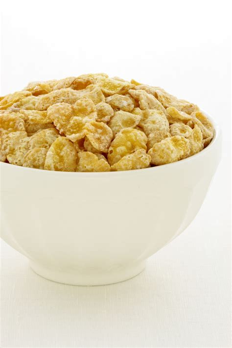 how many calories are in a corn how many calories in a bowl of corn flakes and skimmed milk