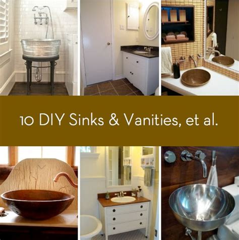 diy your makeup vanity in 16 affordable ways ritely roundup 10 diy sinks and vanities and a tub and shower