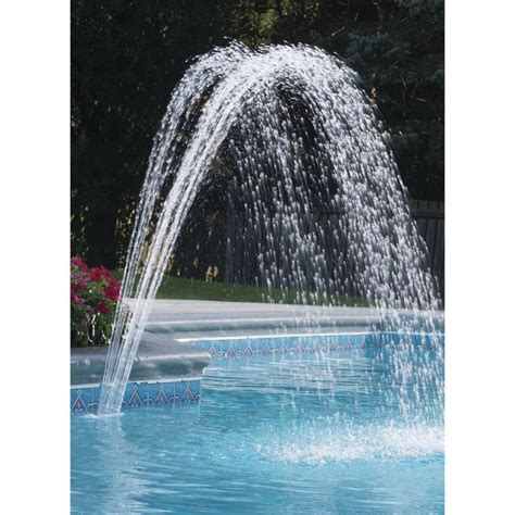 inground pool fountains best 25 pool fountain ideas on pinterest swimming pools