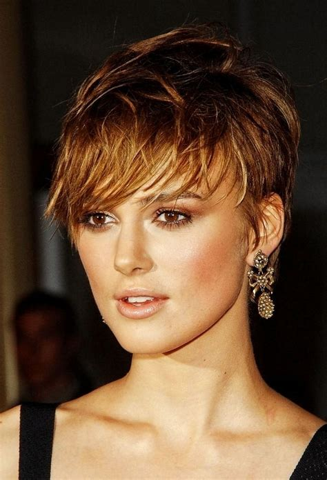 short layered hairstyles for round faces part 01 short