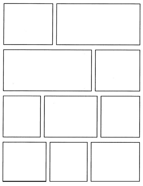 layouts in x template 36 best comic book templates images on pinterest comic