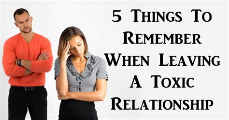toxic relationships recognizing avoiding and handling difficult books 5 things to remember when leaving a toxic relationship