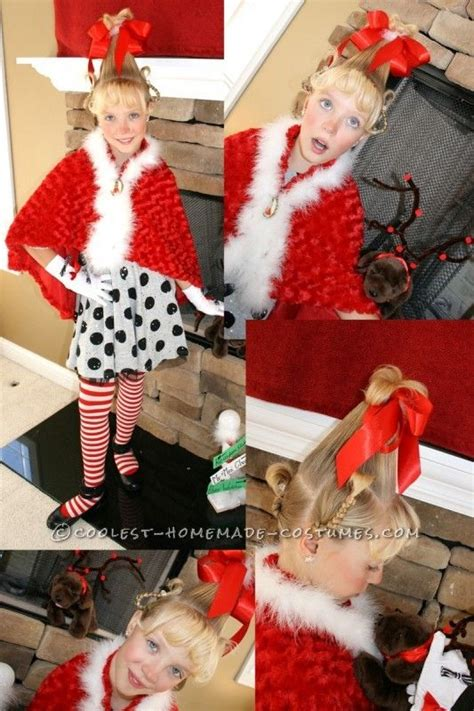 diy grinch and lou who so cool lou who costume costumes and