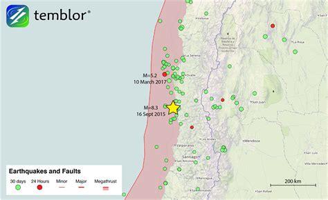 Chile Earthquake Search Chile Earthquake Map Temblor Net