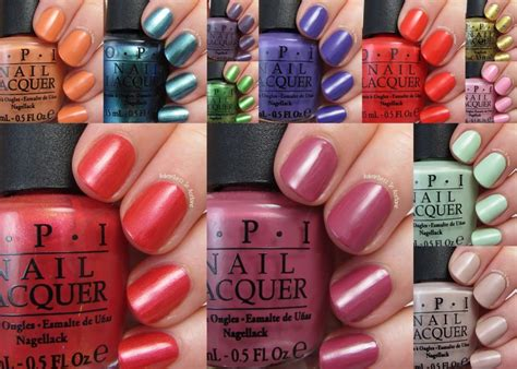 nail colors for may 2015 opi nail polish colors for summer 2016