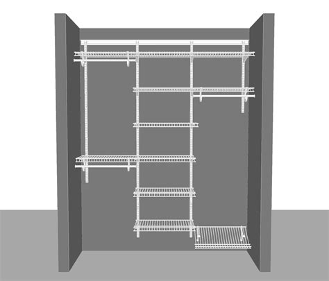 Closetmaid Wardrobe Shelf Adjustable Closet Package 2