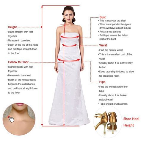 How To Measure Hollow To Floor Measurement For Dress prom dress blue v neck side slit prom