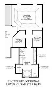 Luxury Master Bathroom Floor Plans by High Pointe At St Georges Carolina Collection The