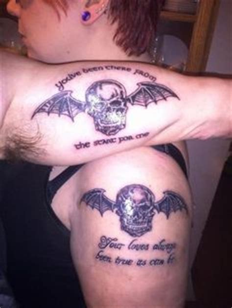 deathbat tattoo designs my a7x deathbat this is a copyrighted photo