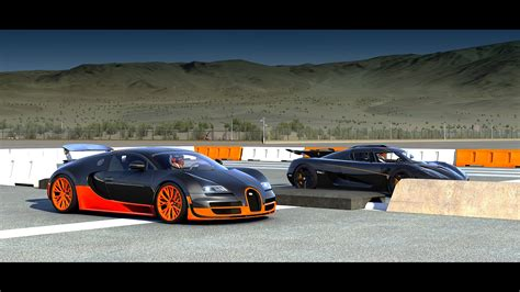 koenigsegg bugatti bugatti veyron vs koenigsegg agera drag race video the