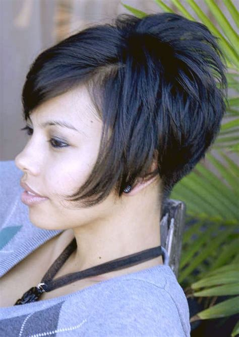 show pictures of short hair in front with long hair in back short stacked bob front view google search hair cuts