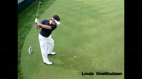 tiger woods slow mo swing louis oosthuizen swing w slow mo youtube