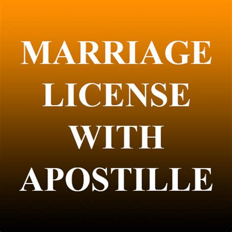 Marriage Records Nv Marriage License With Apostille Records Nv