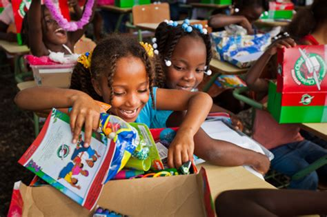 two decades operation christmas child deliver shoebox