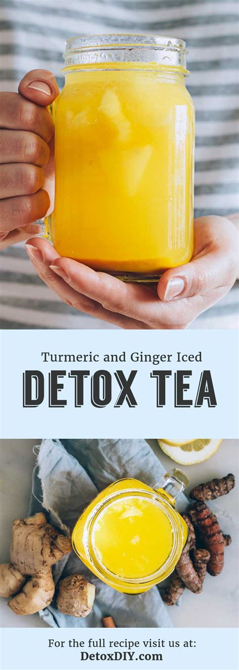 Yum Tea Detox by The Best Turmeric Tea My Favorite Iced Detox Tea