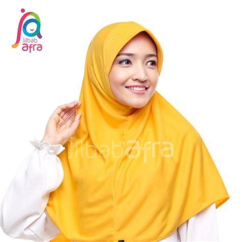 Jilbab Afra Model Beria Ukuran Xs beria 20 kuning kunyit ziahaura