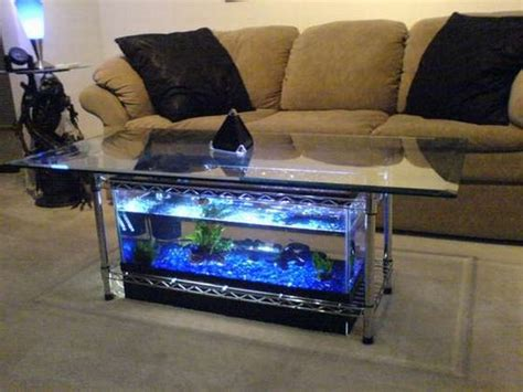 how to build your own aquarium coffee table hometone
