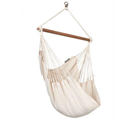chaise hamac suspendu chaise hamac basic bio colombienne modesta 201 cru la siesta