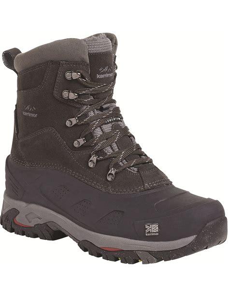 mens karrimor snow boots mens karrimor snowfur 2 boot black snow boots outdoor