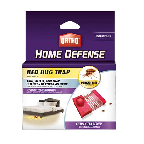bed bug traps home depot ortho home defense bed bug trap 2 pack 0465510 the