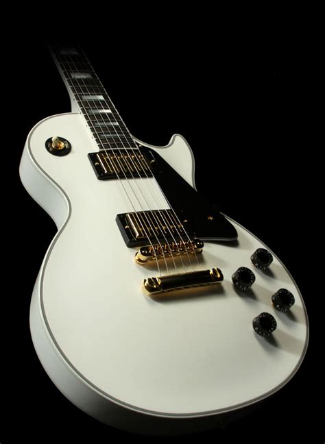 my new epiphone les paul custom alpine white mylespaul gibson les paul custom alpine white gibson les paul