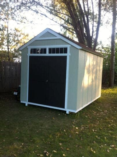 Majestic 8 X 12 Shed by Handy Home Products Installed Majestic 8 Ft X 12 Ft Wood
