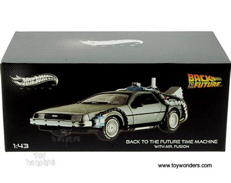 Hotwheels Elite One Back To The Future 1 back to the future time machine w mr fusion bck08 9964 1 43 scale mattel wheels elite