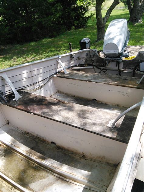 fishing boat restoration boat restoration advice 68 lone star 16 aluminum the