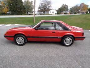 85 ford mustang gt last year for the carbureted 5 0 ho
