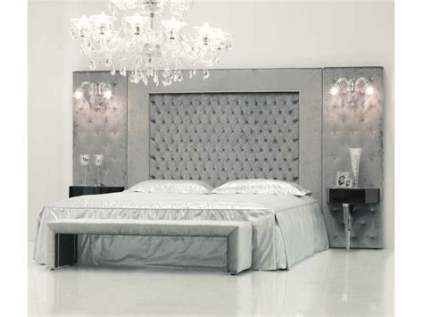Bed With Headboard by Upholstered Fabric Bed With High Headboard Theatre