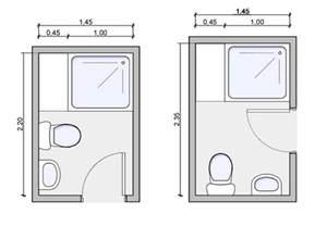 Tiny Bathroom Floor Plans Three Quarter Bath Floorplan Three Quarter Bath Drawing