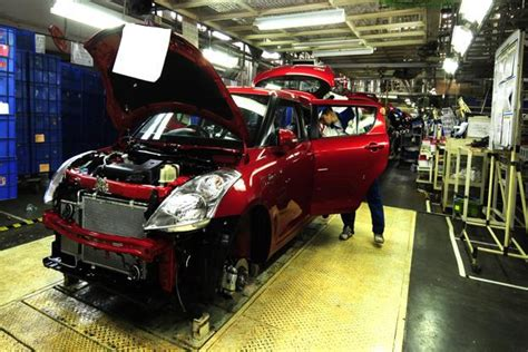 In Maruti Suzuki Plant Big Funds Challenge Maruti Suzuki Gujarat Plant