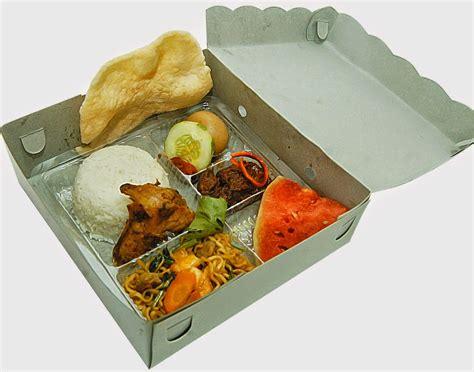 menu nasi dos     nasi kotak catering enak