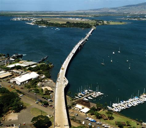 admiral clarey bridge aka ford island bridge hdcc
